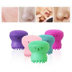 2PCS Silicone Face Cleansing Brush Facial Skin Cleanser Pore