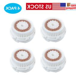 Radiance Brush Head 4 pk Facial Cleansing compatible with MI