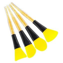 4 Pieces Silicone Face Mask Brush Applicator Tool for Facial