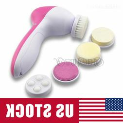 5 in 1 Electric Facial Cleansing Brush Deep Clean Skin Care