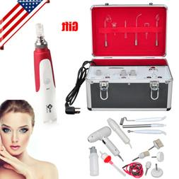 5 in 1 Galvanic High Frequency Brush Facial Machine Spa Salo