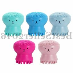 5pcs Exfoliating Silicone Facial Cleaner Skin Pore Cleanser