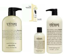 PHILOSOPHY Purity made simple one-step facial cleanser choic