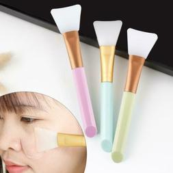 Cosmetic Tool Silicone Soft Facial Mask Mud Brush Soft Head