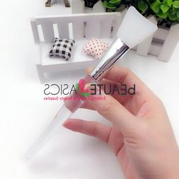 Curved Applicator Head Silicone Facial Mask Brush Applicator