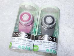 eco tools Facial Cleansing Brush Compact Portable Size Gray