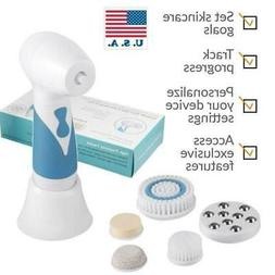 Electric Facial Cleansing Brush Face Body Exfoliating Massag