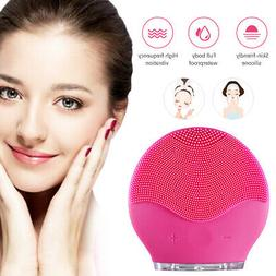 Soft Silicone Facial Cleansing Brush Super Electric Skin fac