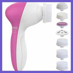 Facial Brush PIXNOR Newest 2020 7 In 1 Electric Face Cleansi