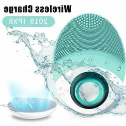 Sonic Facial Cleansing Brush, Wireless Charging Face Massage
