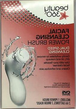 Beauty 360 Facial Cleansing Power Brush Dual-Speed Cleansing