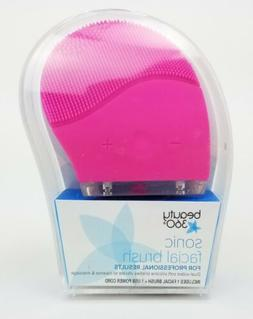Beauty 360 Facial Cleansing Silicone Brush  Exfoliator, Mass