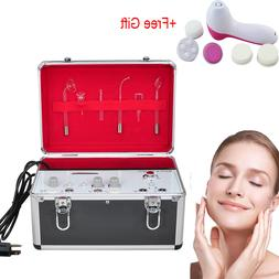 High Frequency Galvanic Facial Brush Vacuum Spray Beauty Cle