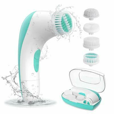2020 upgraded etereauty facial cleansing brush waterproof