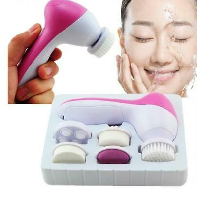 5-1 Multifunction Electronic Facial Cleansing Brush Skin