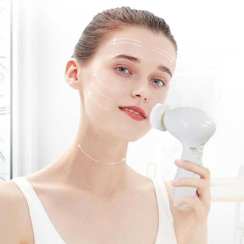 Spin Facial Cleansing Massage Care Acne Blackheads Remover