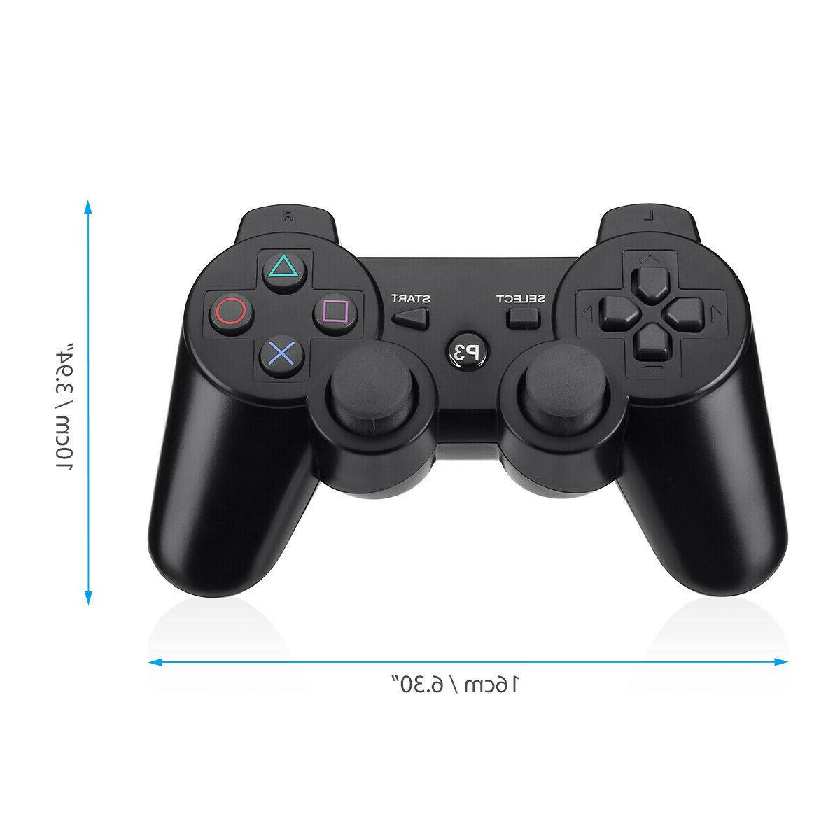 2 Bluetooth Video Controller Pad For Sony PS3 3