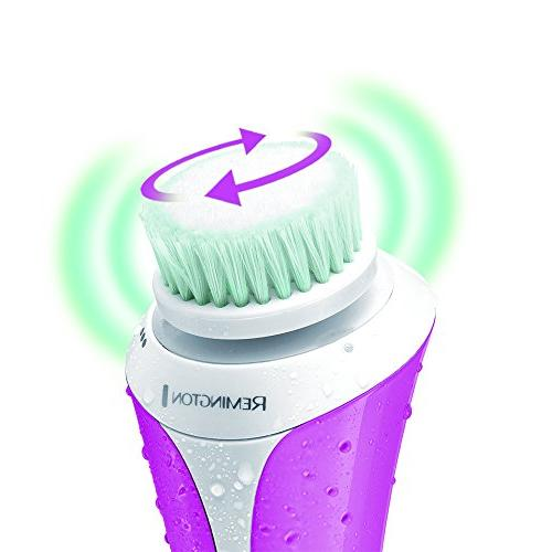 Remington FC1000NA Advanced Facial Cleansing Brush, Rechargeable
