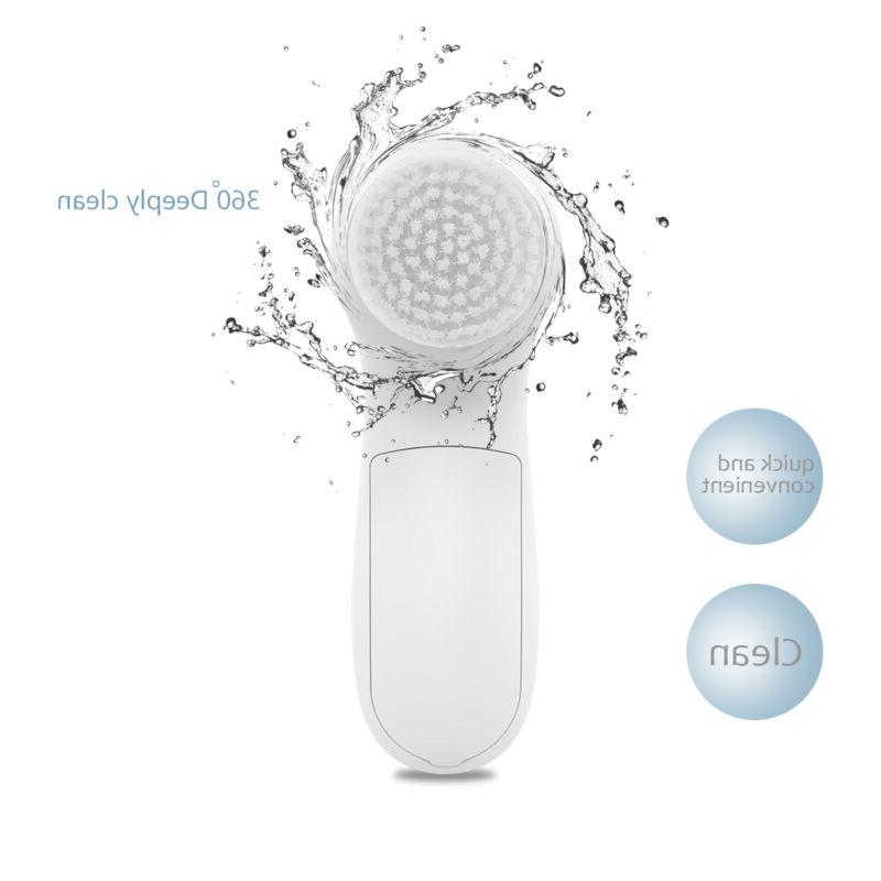 PIXNOR 7 in1 Electric Face Facial Brush Spa