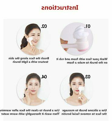 Silicone Face Cleaning Tool Double Side