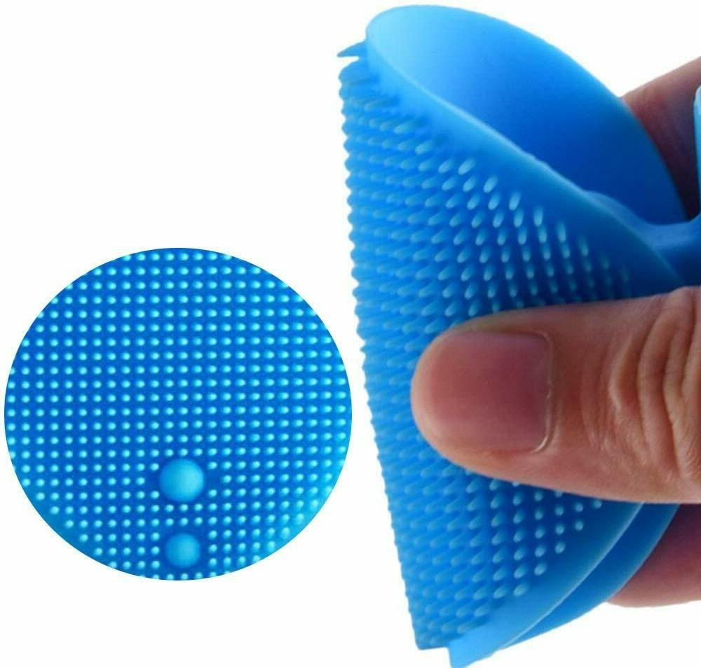 Silicone Pad Brush Scrubber Babies Adults