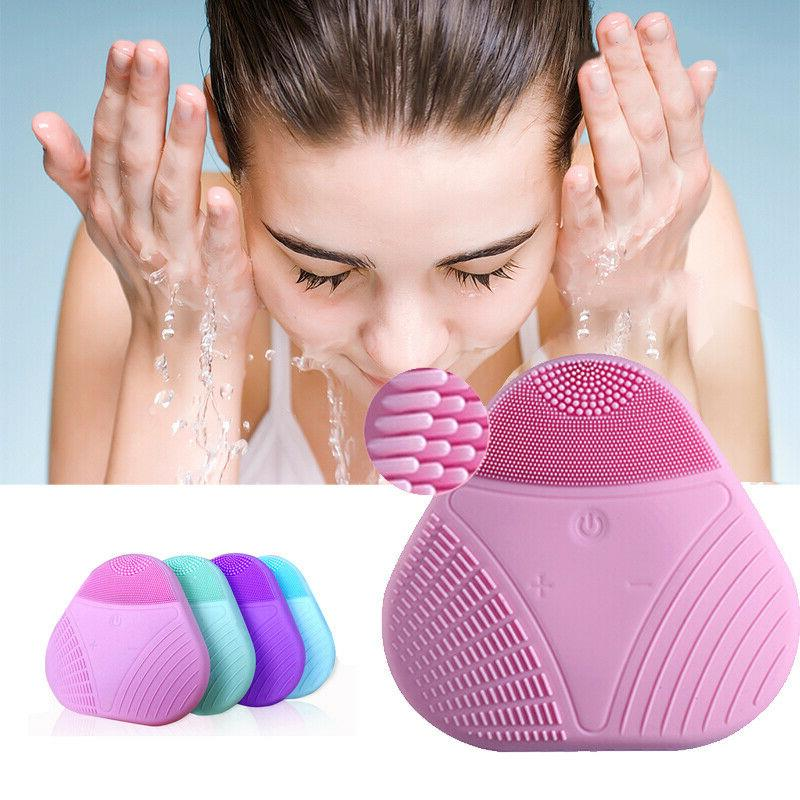 US Silicone Electric Cleansing Brush Cleanser Care