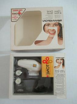 new vintage remington battery powered facial cleansing