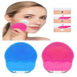 Silicone Electric Facial Cleansing Brush Sonic Face Cleaning