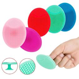 Silicone Facial Cleaning Brush Baby Face Bath Blackhead Exfo