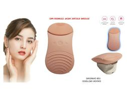 Sonic Facial Cleansing Brush Scrubber Silicone Electric Wate