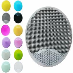 Silicone Wash Pad Facial Cleansing Brush Face Scrubber Exfol