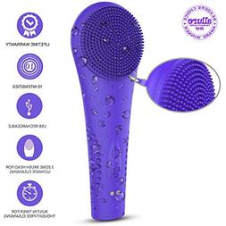 sonic facial cleansing brush2020 upgraded waterproof silicon