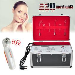 USA 5 in 1 High Frequency Galvanic Facial Brush Vacuum Spray